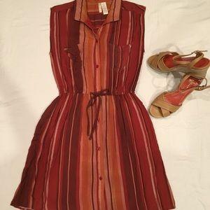 🌼Japna Short Tie Waist Dress